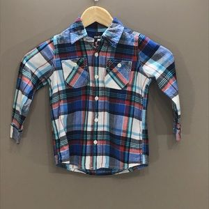 4/$25 OSH KOSH B'GOSH Button Down Shirt Size 4T